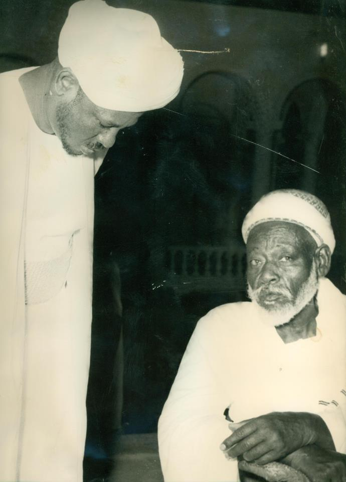 alimam abdelrahman with his son alimam alsiddig