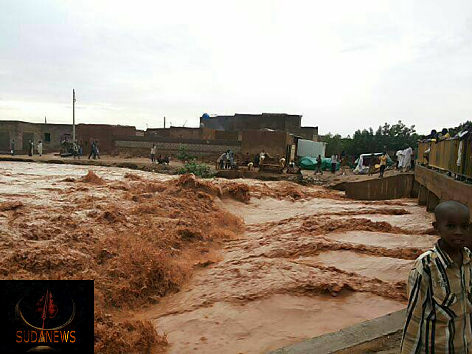 Heavy rain and flash floods in Sudan