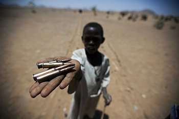 darfur child with bullets