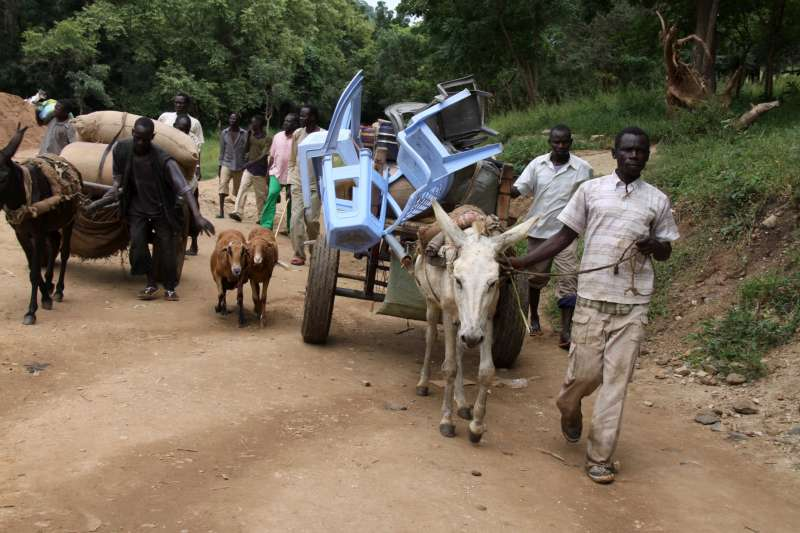 refugees from blue nile state