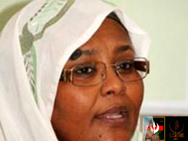 Dr Mariam Alsadig Almahdi - member of Umma National Party Political Bureau