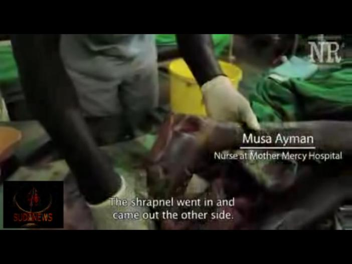 Sudan Targets Only Hospital in Nuba Mountains 1 may 2014