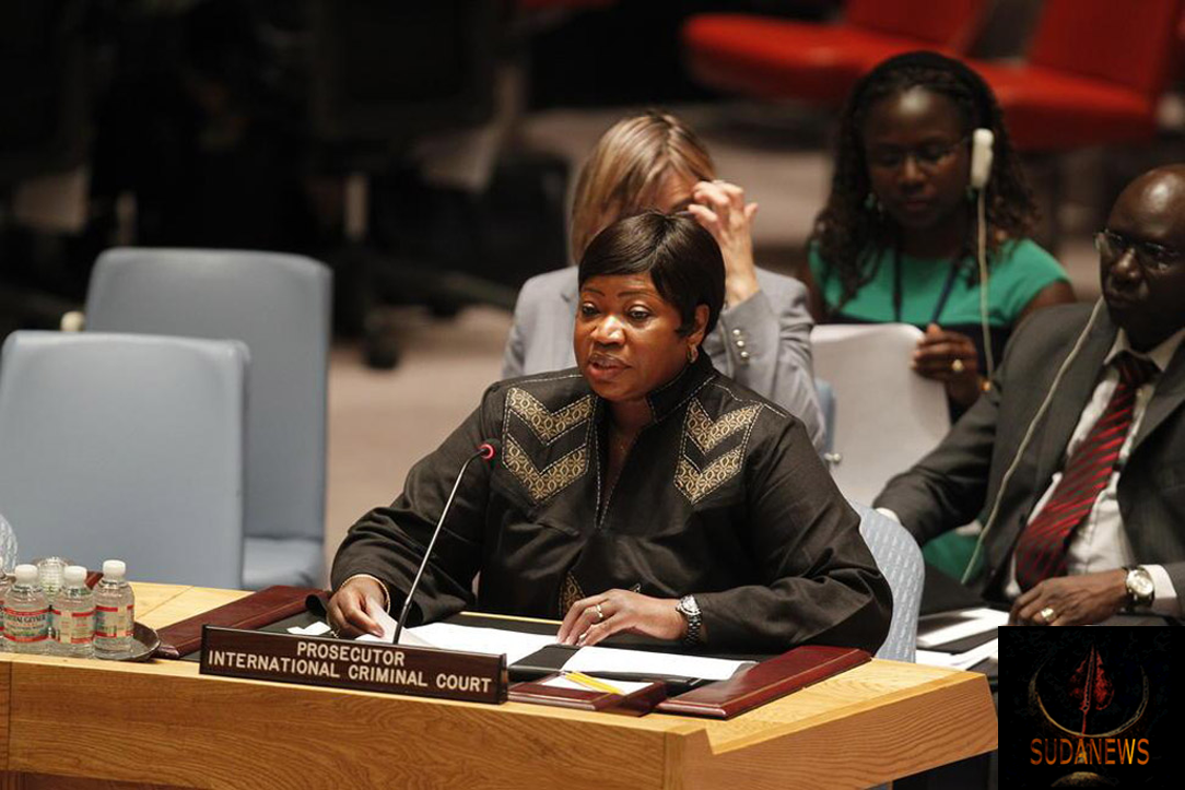 ICC Prosecutor Fatou Bensouda briefs the Security Council on Darfur. UN Photo/Paulo Filgueiras