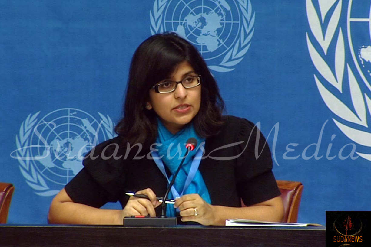 OHCHR spokesperson Ravina Shamdasani. Photo: UN Multimedia