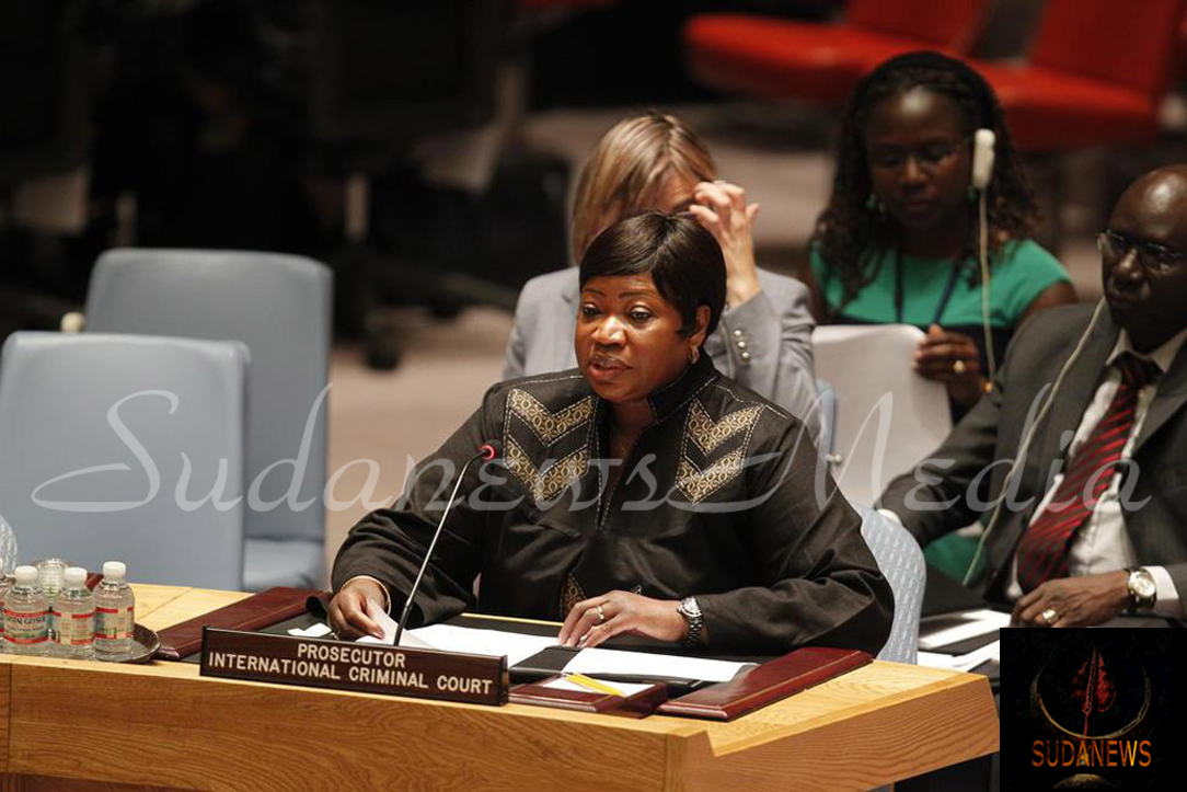 International Criminal Court (ICC) Prosecutor Fatou Bensouda